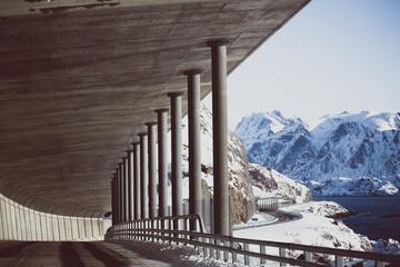 tunel norveških planina
