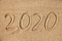 2020 On A Sandy Background On ...