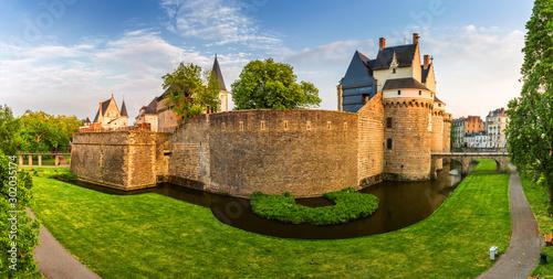 Castle of the Dukes of Brittany (Chateau des Ducs de Bretagne) in Nantes, France Fototapete