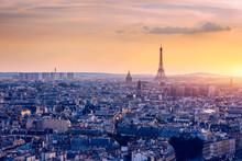Panoramic Aerial View Of Paris...