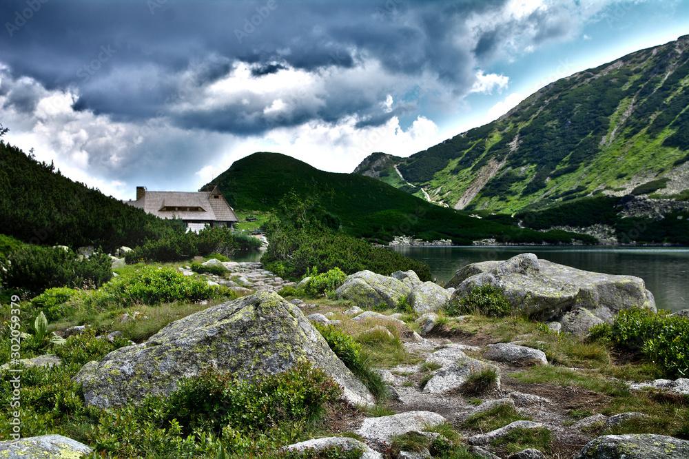 Fototapety, obrazy: Tatry - Dolina Pięciu Stawów