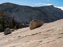 Large Granite Rocks On A Smoot...
