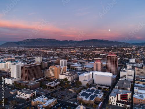 Photo Albuquerque and the Sandias at Dusk