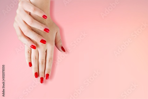 Nails. Canvas Print