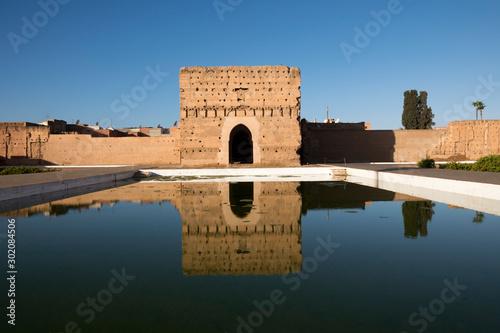 Fototapeta Zamek arabski przed świtem ścienna