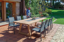 Dining Table With Chairs In Th...