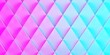 canvas print picture - background of rhombuses in pink blue