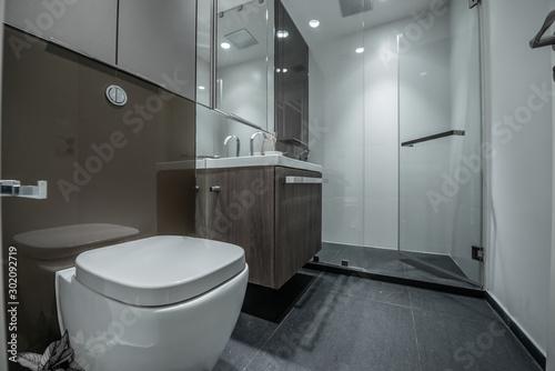 Fototapeta  Beautiful Large Bathroom obraz