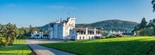Perthshire / Szkocja - 25 Sierpień 2019: Zamek Blair W Sierpniowy Słoneczny Dzień