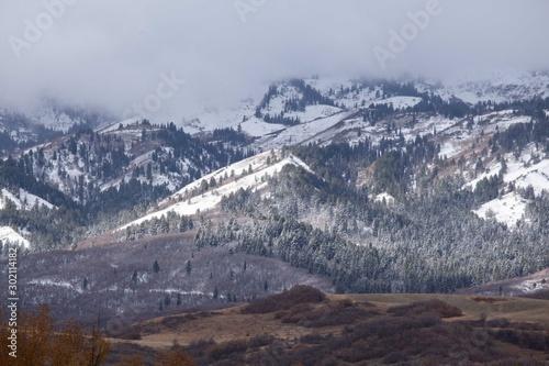 First Mountain Snow