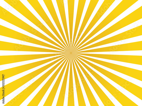 Fototapeta yellow and orange abstract starburst background obraz na płótnie