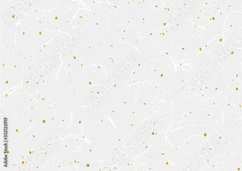 Obraz 和紙と金粉のシンプルなベクターデータ - fototapety do salonu