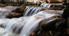 Image Of Stream Flowing Betwee...