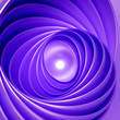 canvas print picture - Geometric background. 3d illustration, 3d rendering.