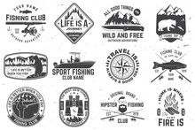 Set Of Outdoor Adventure Patch...