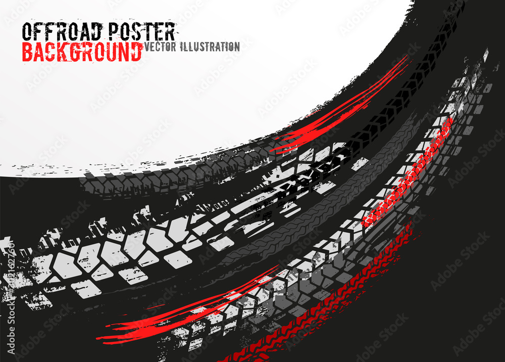 Fototapety, obrazy: Vector automotive banner template