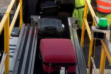 Luggage Loading On Airplane