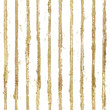 canvas print picture - Gold gliterring shining stripe grunge seamless pattern. Golden stripes on black background.