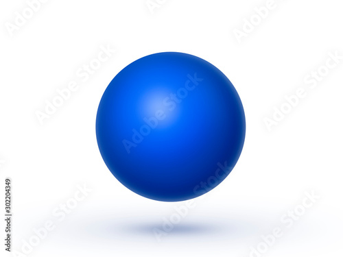 Fototapeta Globe sphere or ball isolated on a white background