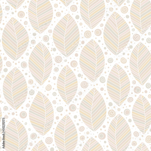Tapety Beżowe decorative-ornamental-seamless-soft-brown-beige-pattern