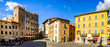 canvas print picture - old town of massa marittima in italy