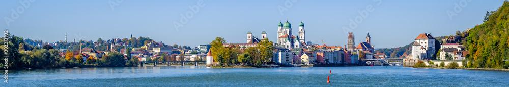 Fototapety, obrazy: passau - bavaria - old town