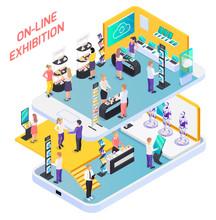 Business Exhibition Promotion Composition