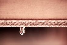 Rain Water Drop Falling From S...