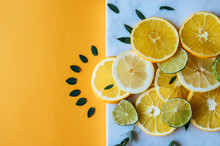 Orange, Lemon And Lime Slices ...