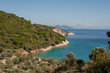 view of the island in mediterranean sea