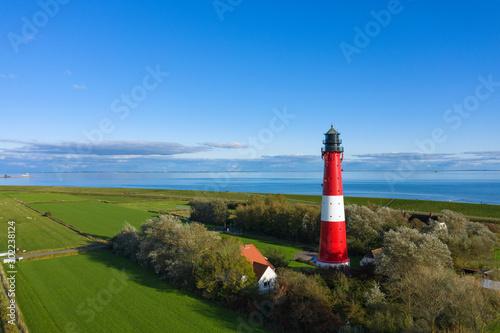 Canvas Prints North Sea Der Leuchtturm von Pellworm/Deutschland