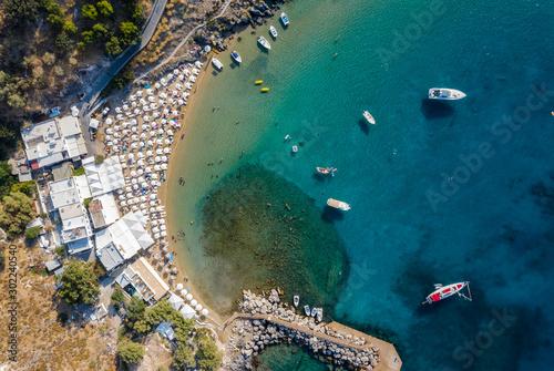 Платно famous Ellie beach in Rhodes