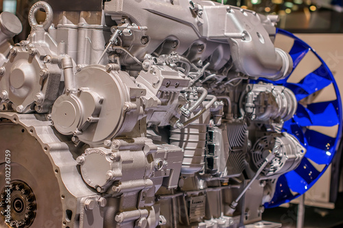 Photo Industrial propulsion system at the plant