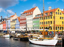 Nyhavn - A Waterfront, Canal A...