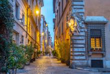 Italy, Lazio, Rome, Ponte, Via Dei Coronari