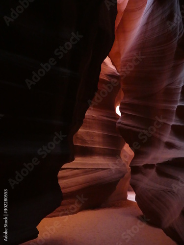 Printed kitchen splashbacks Brown lower antelope canyon