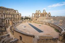 Tunisia, El Jem, Roman Amphitheatre