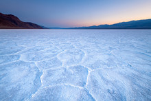 Salt Flats In Death Valley Nat...