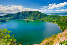 Crater Lake Of Taal Volcano On...