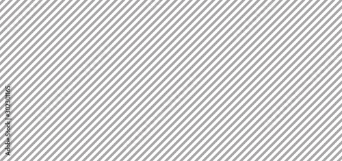 Obraz Gray lines background. Vector illustration - fototapety do salonu