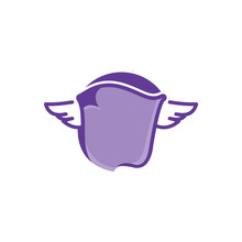 Creative Purple Flying Blanket...