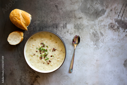 Clam Chowder Canvas-taulu