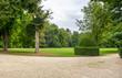 Leinwandbild Motiv Halbturn palace park