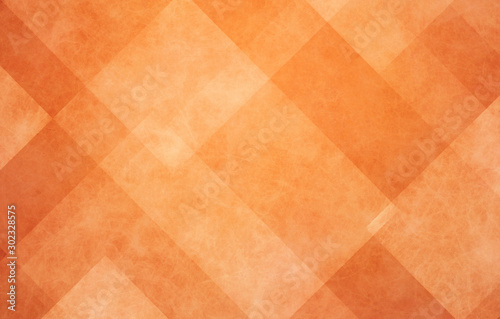 Photo orange autumn background, halloween and Thanksgiving color, abstract background