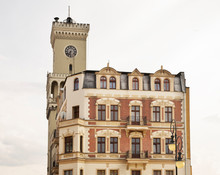 Clock Tower Of Town Hall In Za...