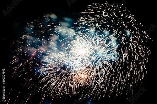 Fireworks Tablou Canvas