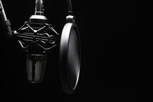 Studio Microphone With Pop Fil...