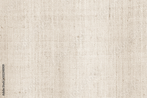 Cream abstract cotton towel mock up template fabric on background Tableau sur Toile