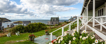 View From The Front Porch Of The Island Inn, Monhegan Island