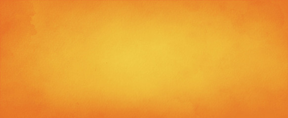 Yellow orange background with faint texture and distressed vintage grunge and...